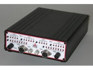 Two Channels Combinaison Bridge-ECG-EMG-EEG Amplifier