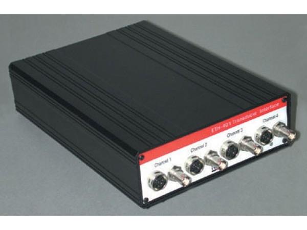 Four channel transducer amplifier