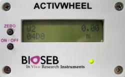 New embedded LCD screen of Bioseb
